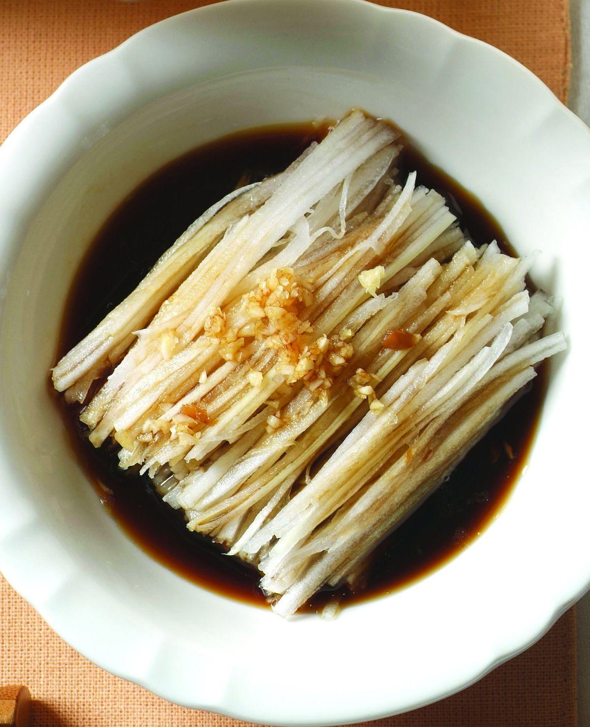食譜:蒜泥白菜