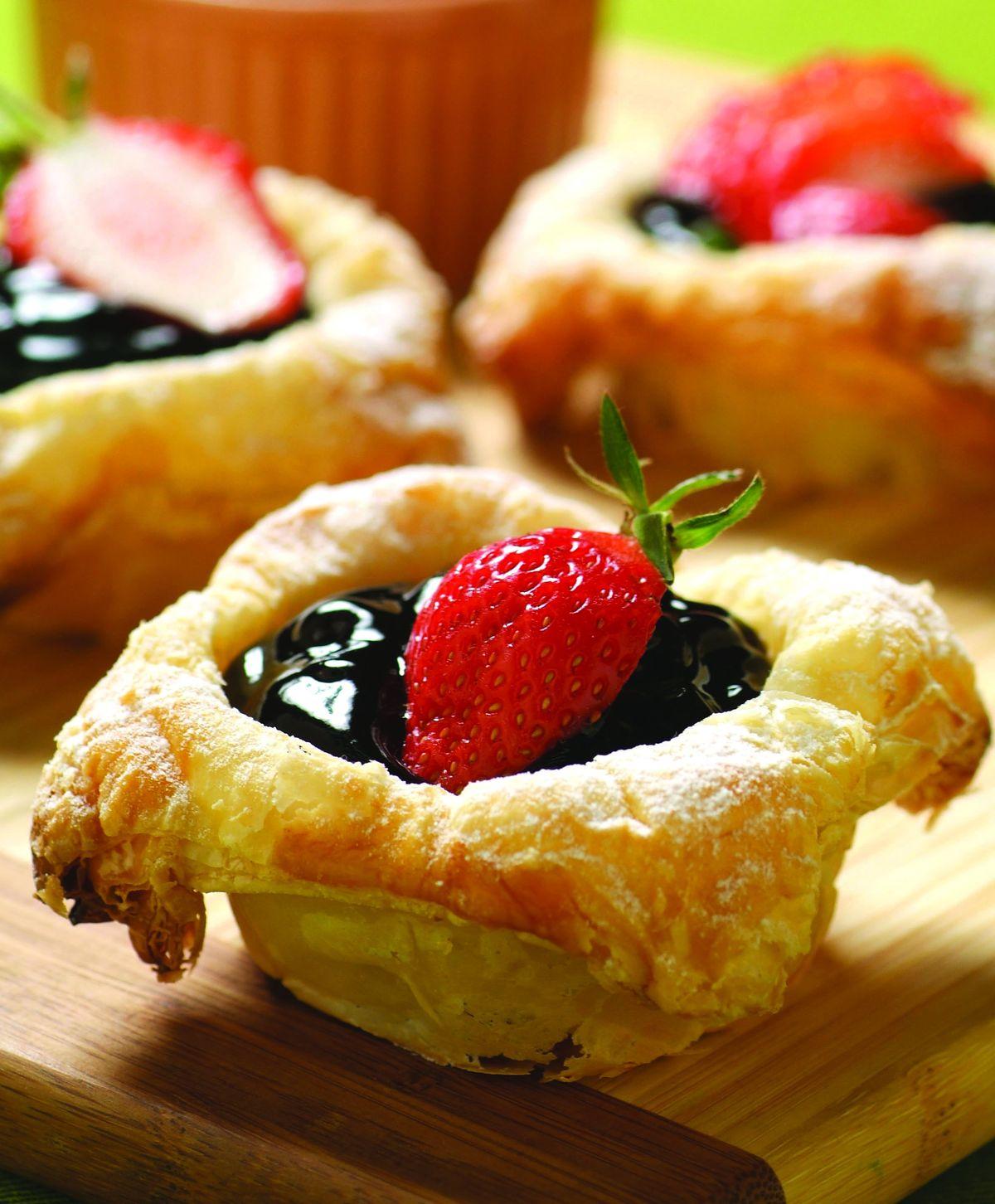 食譜:藍莓盅(平底鍋)