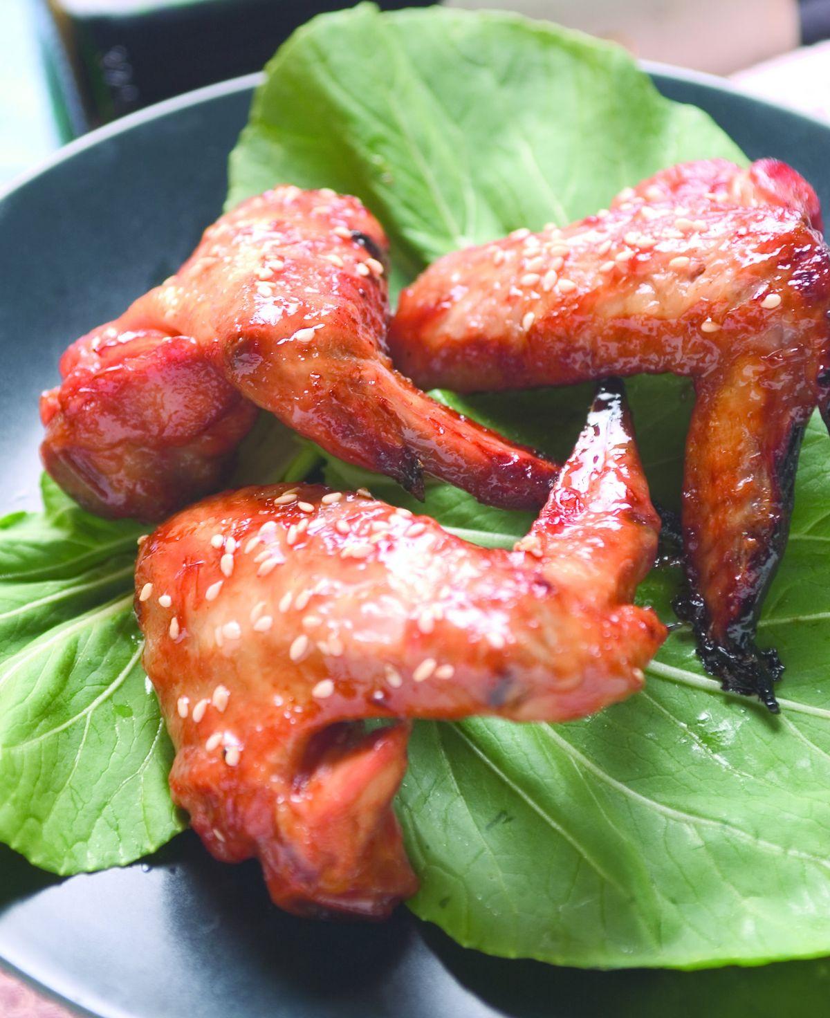 食譜:蜜汁烤雞翅