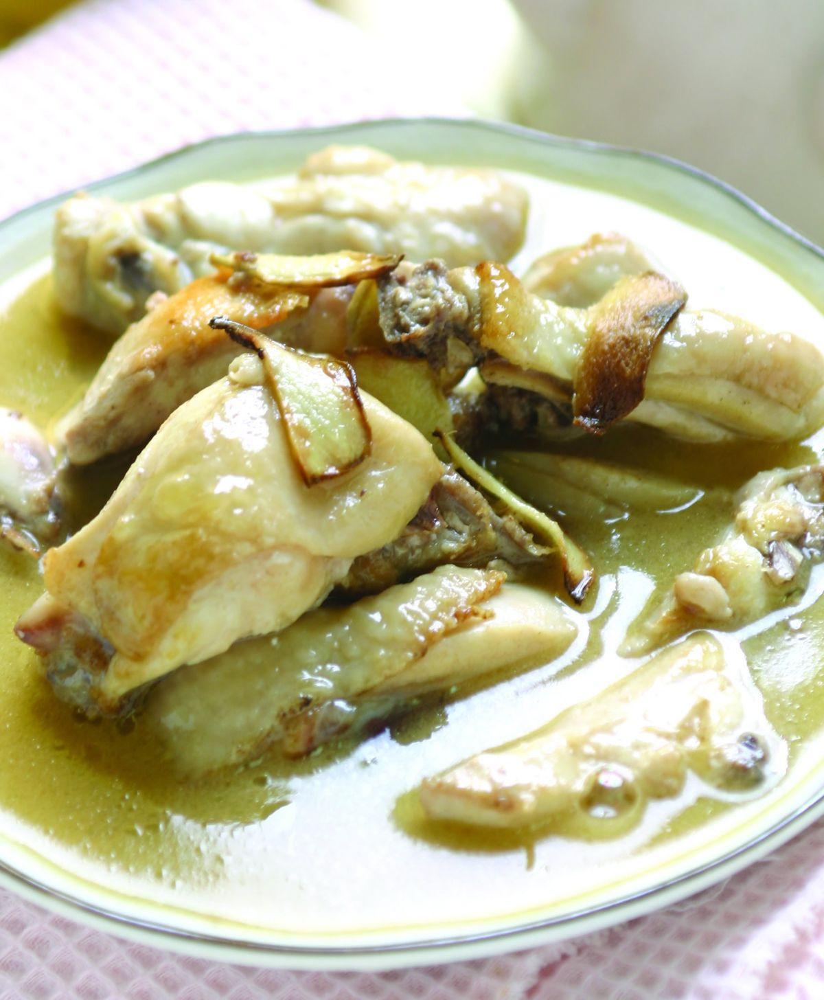 食譜:麻油雞(9)