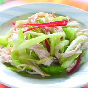 韭黃拌雞絲(1)