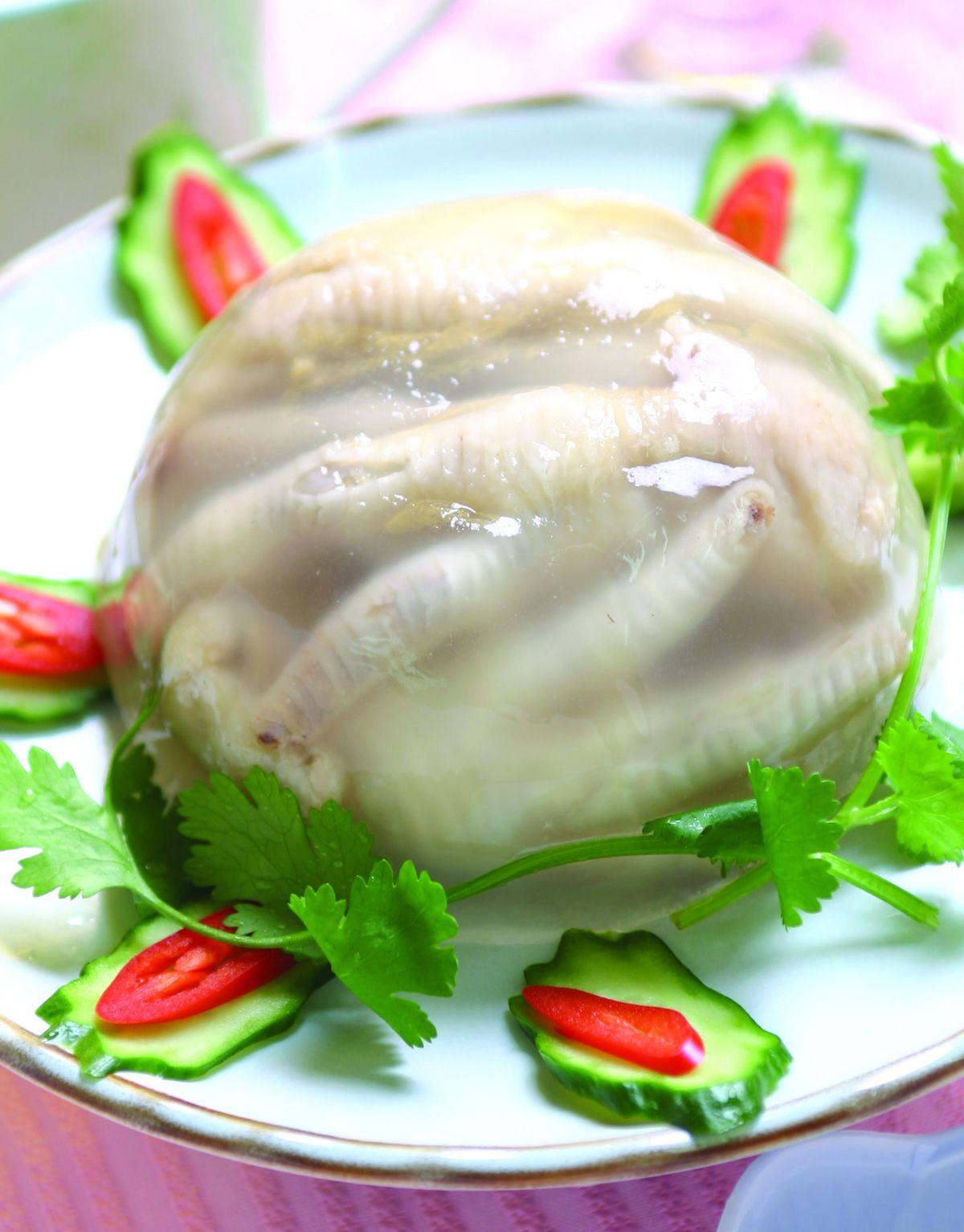 食譜:雞腳凍(1)