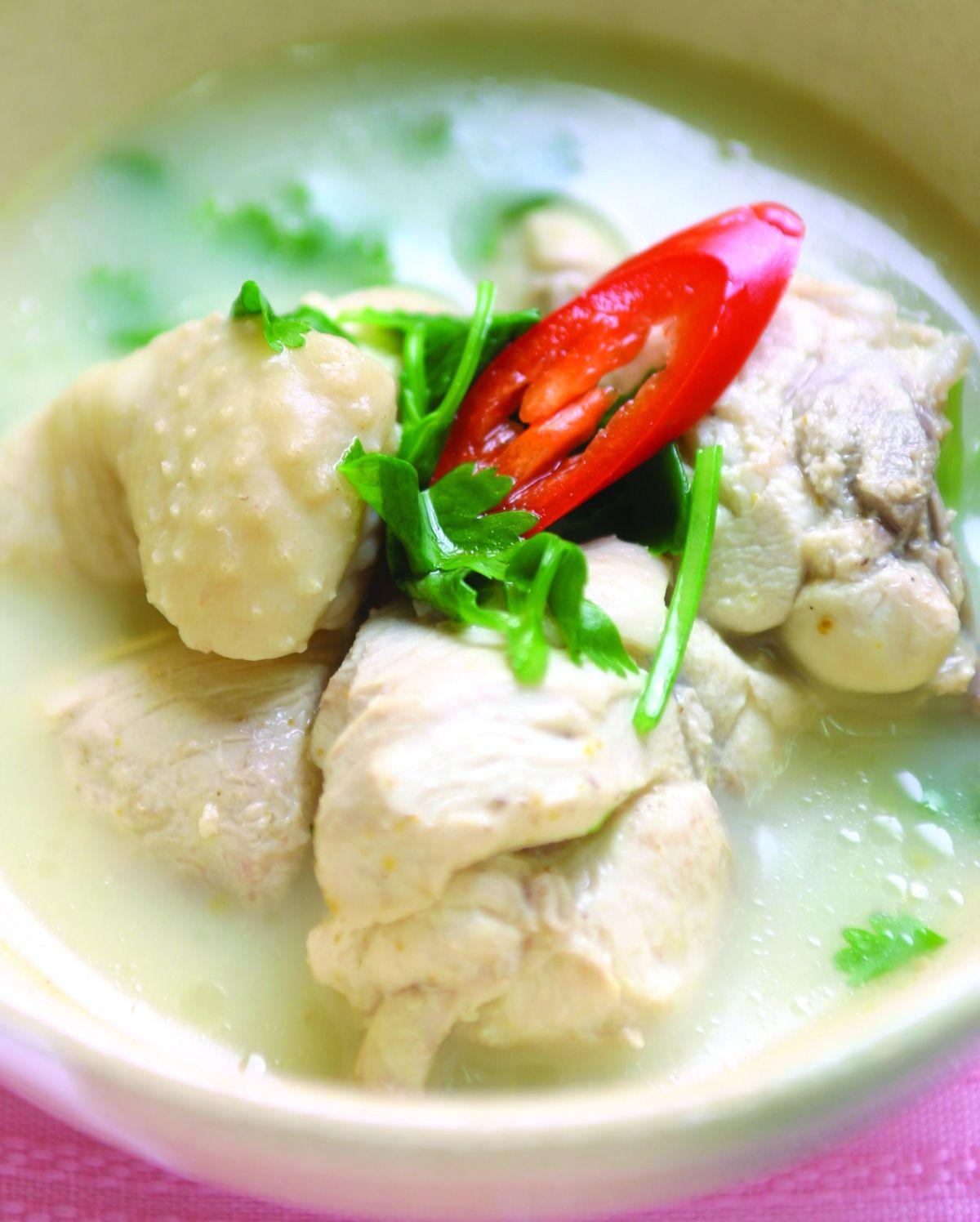 食譜:椰汁雞
