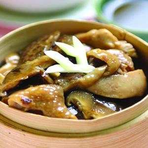 香菇蒸雞(2)