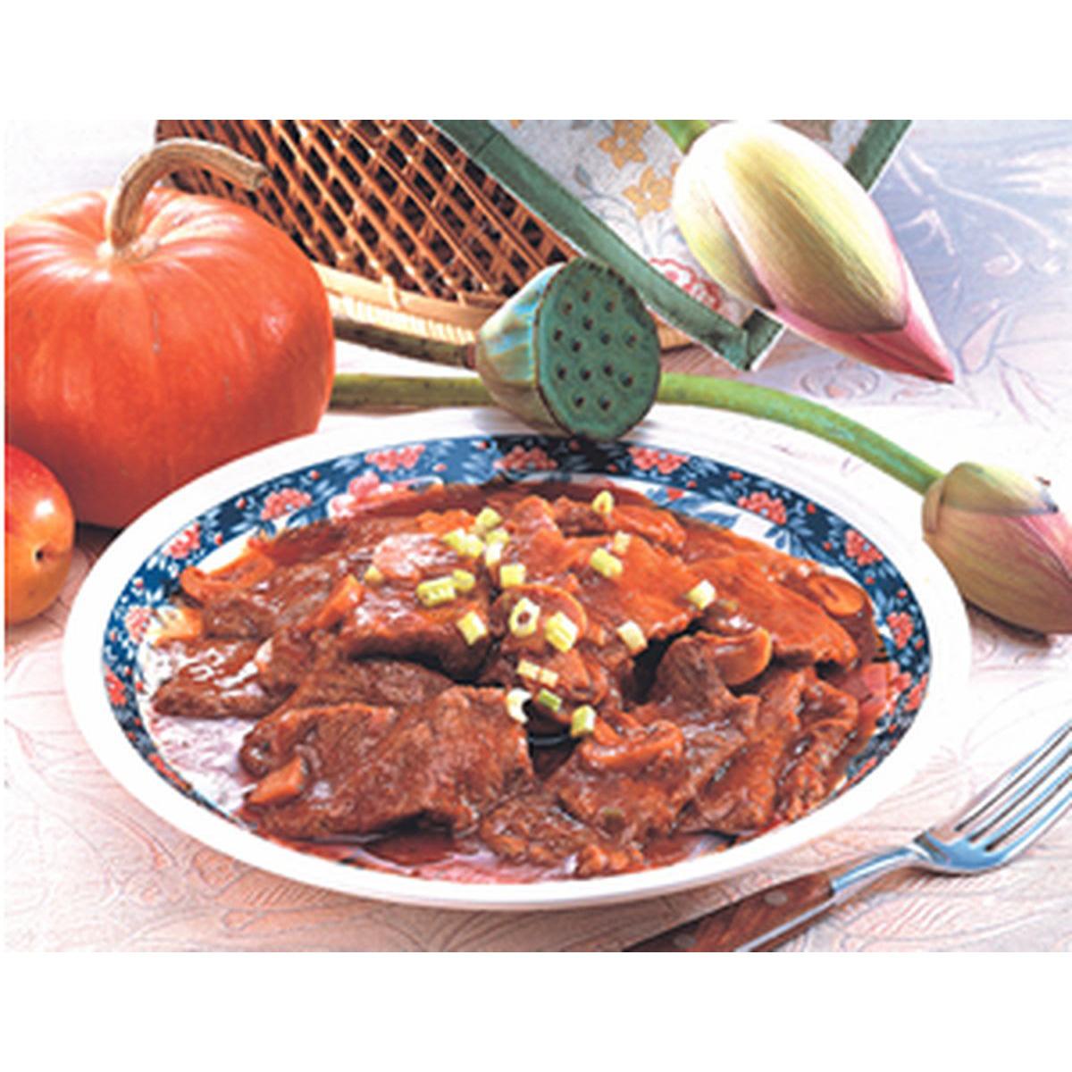 食譜:茄汁牛肉片