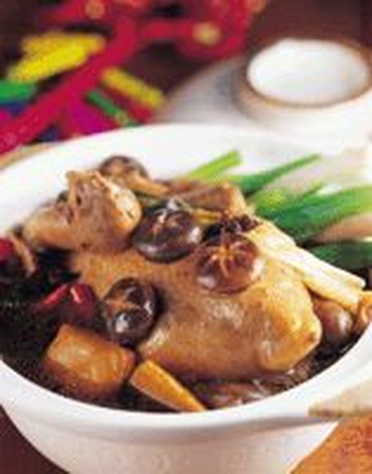 食譜:香菇雞砂鍋