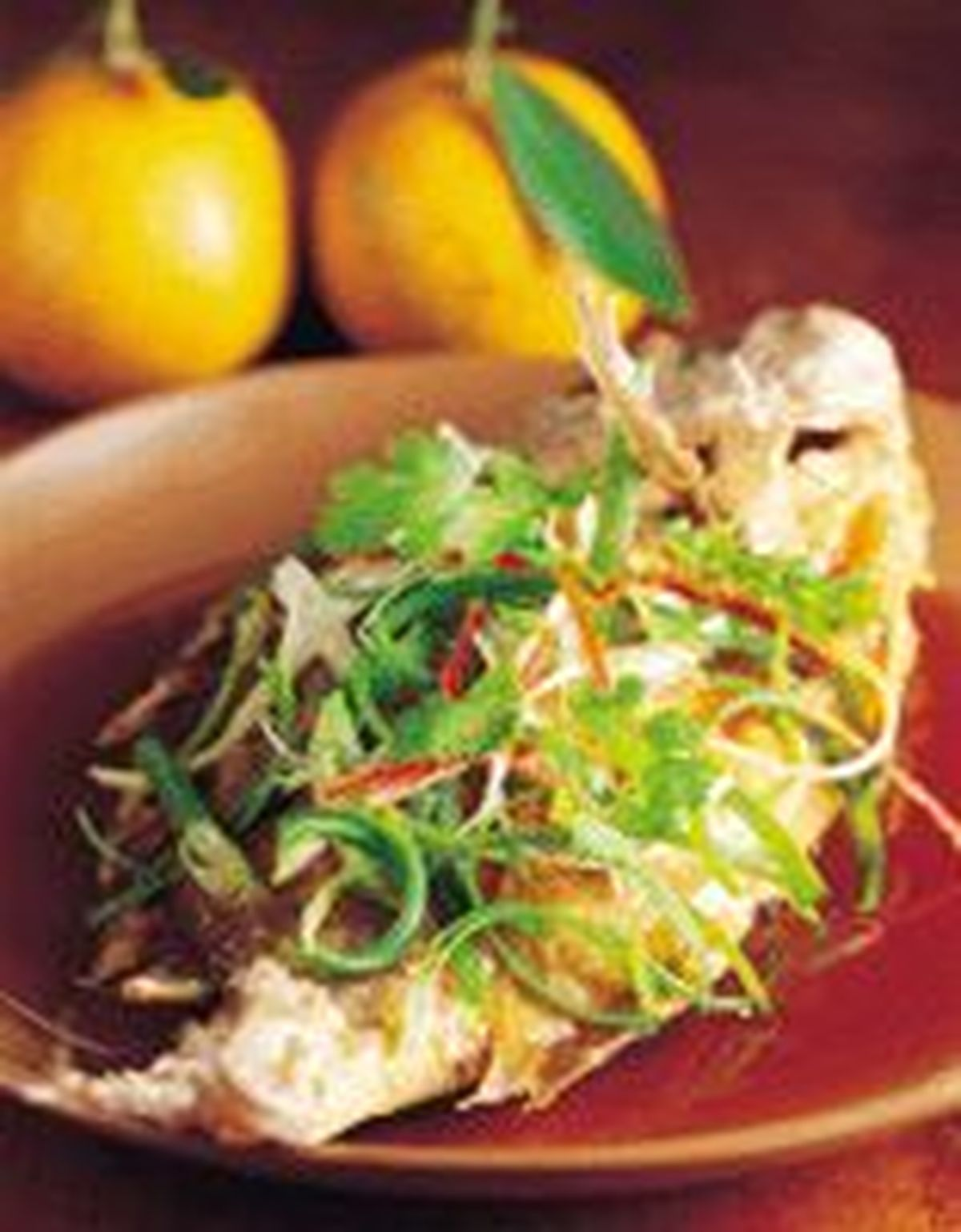 食譜:薑蔥富貴黃魚