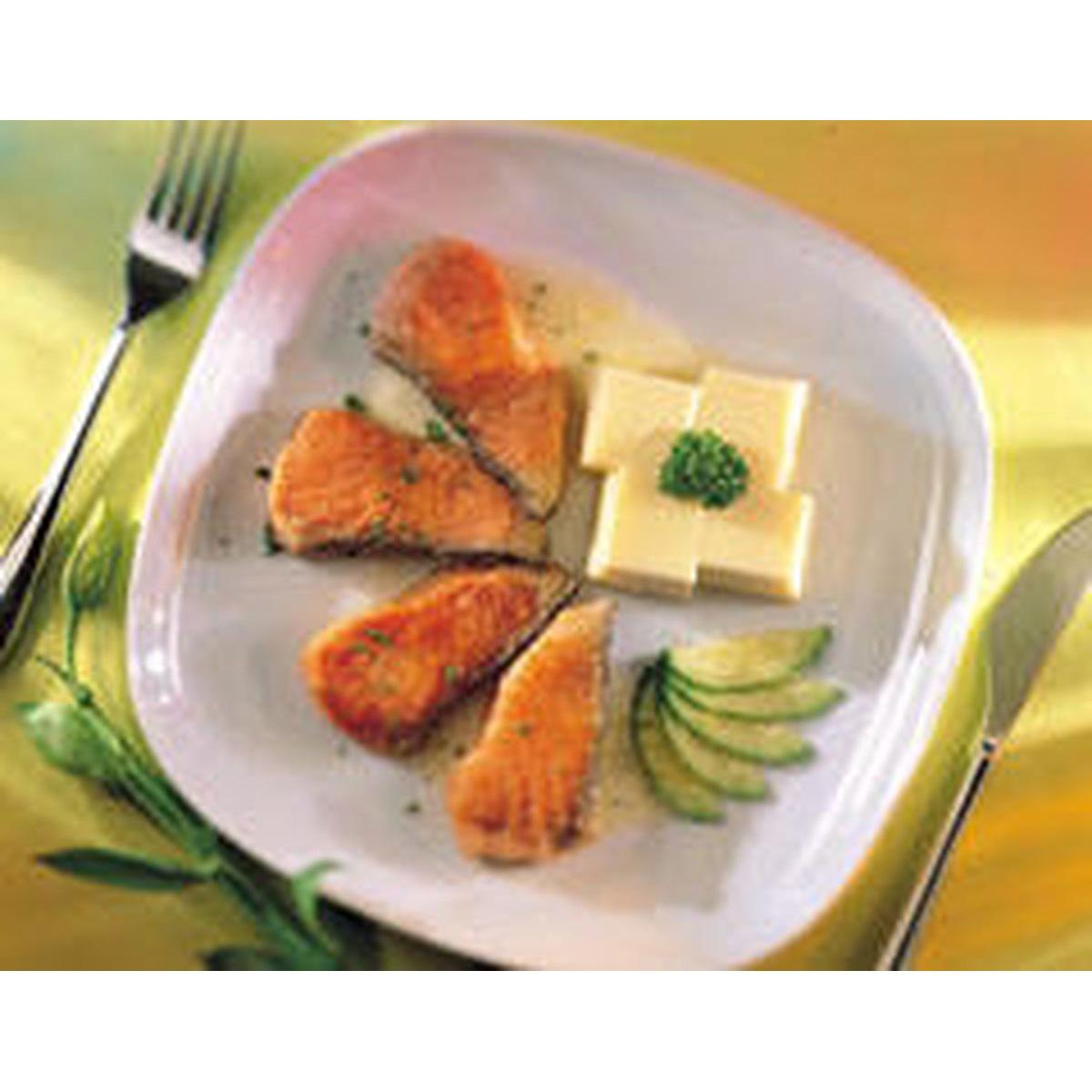 食譜:桔仔醬鮭魚