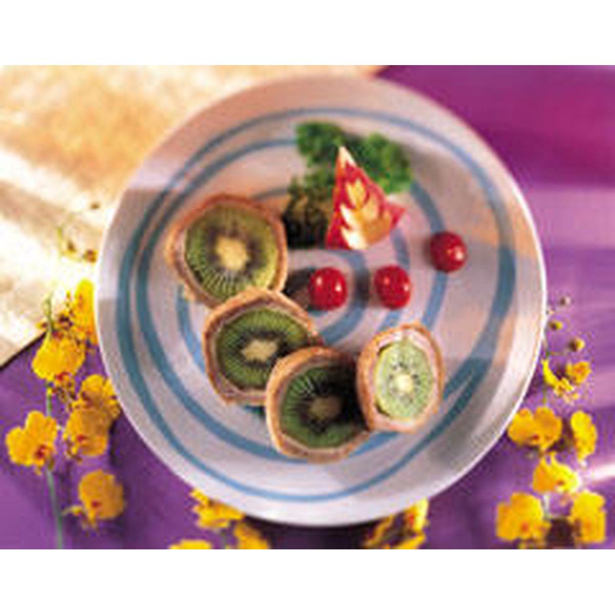 食譜:奇異果芋泥寶