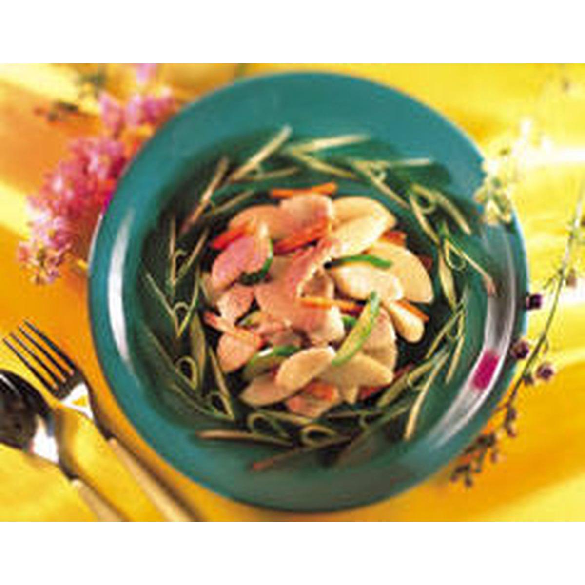 食譜:西洋梨炒肉絲