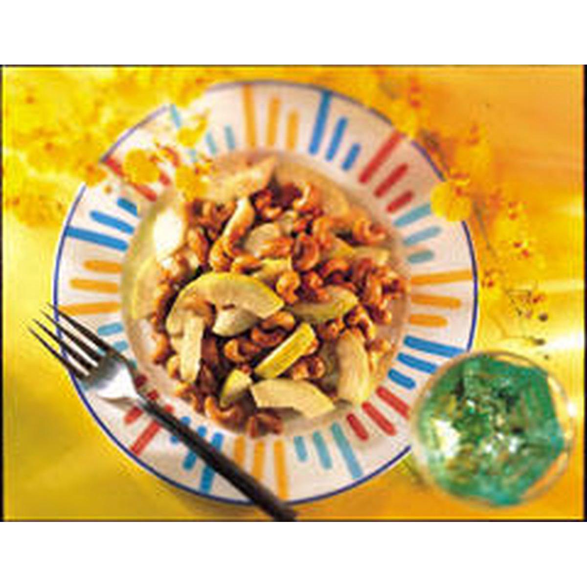 食譜:蕃石榴炒腰果