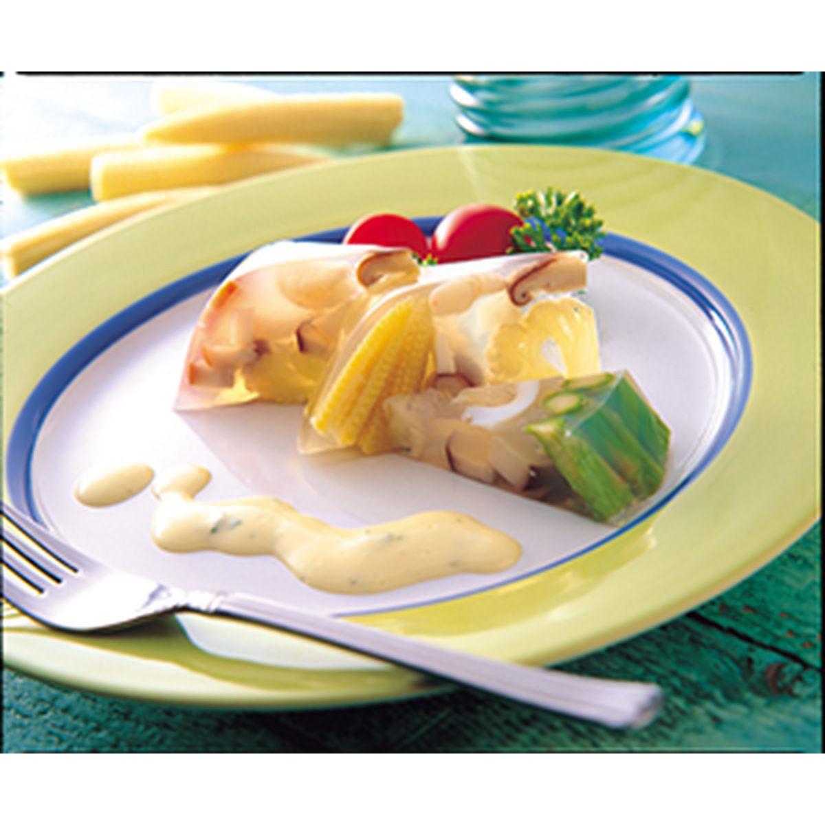 食譜:什錦蔬菜凍
