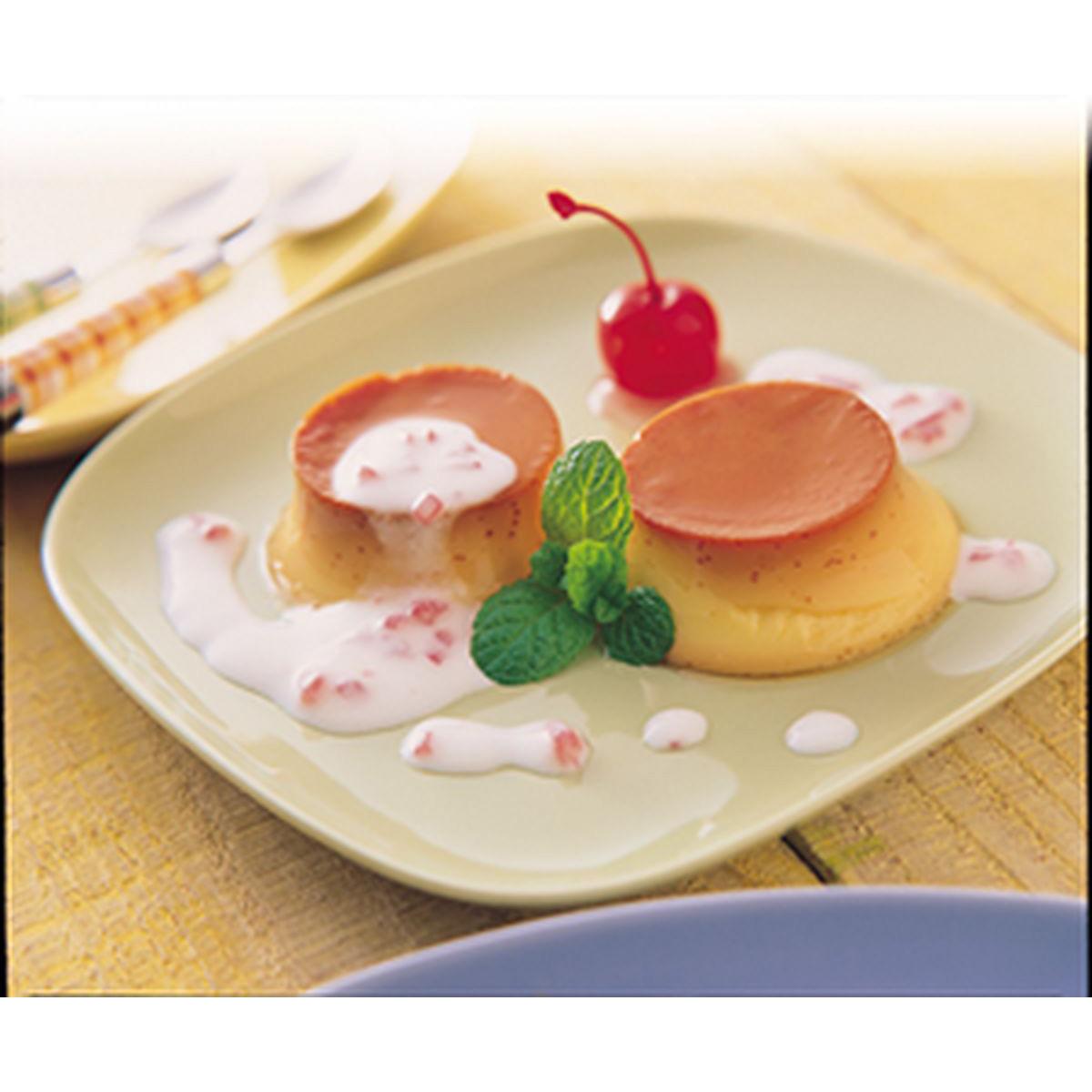 食譜:櫻桃布丁