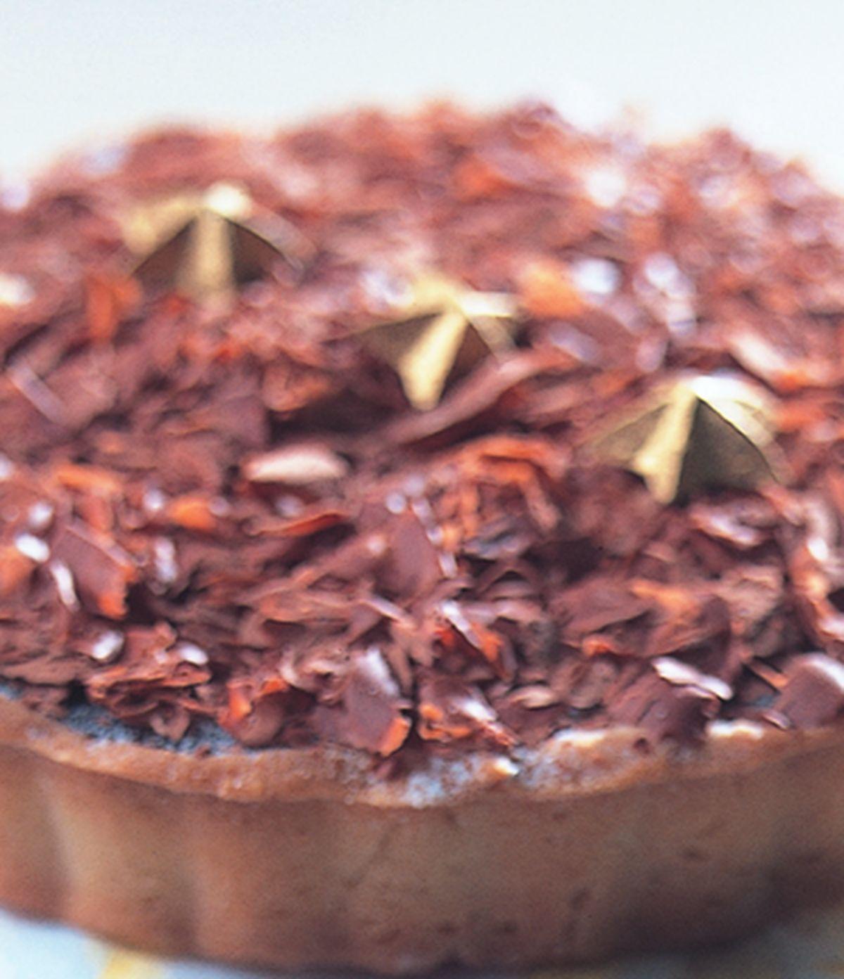 食譜:咖啡巧克力慕斯派