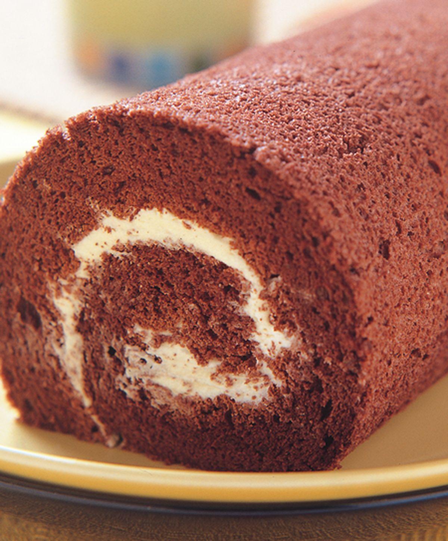 食譜:原味巧克力瑞士捲