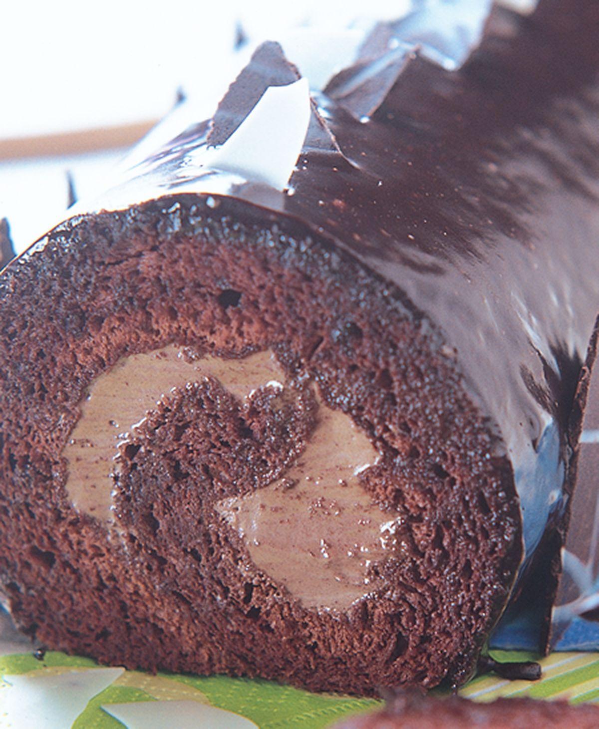 食譜:巧克力幕斯瑞士捲