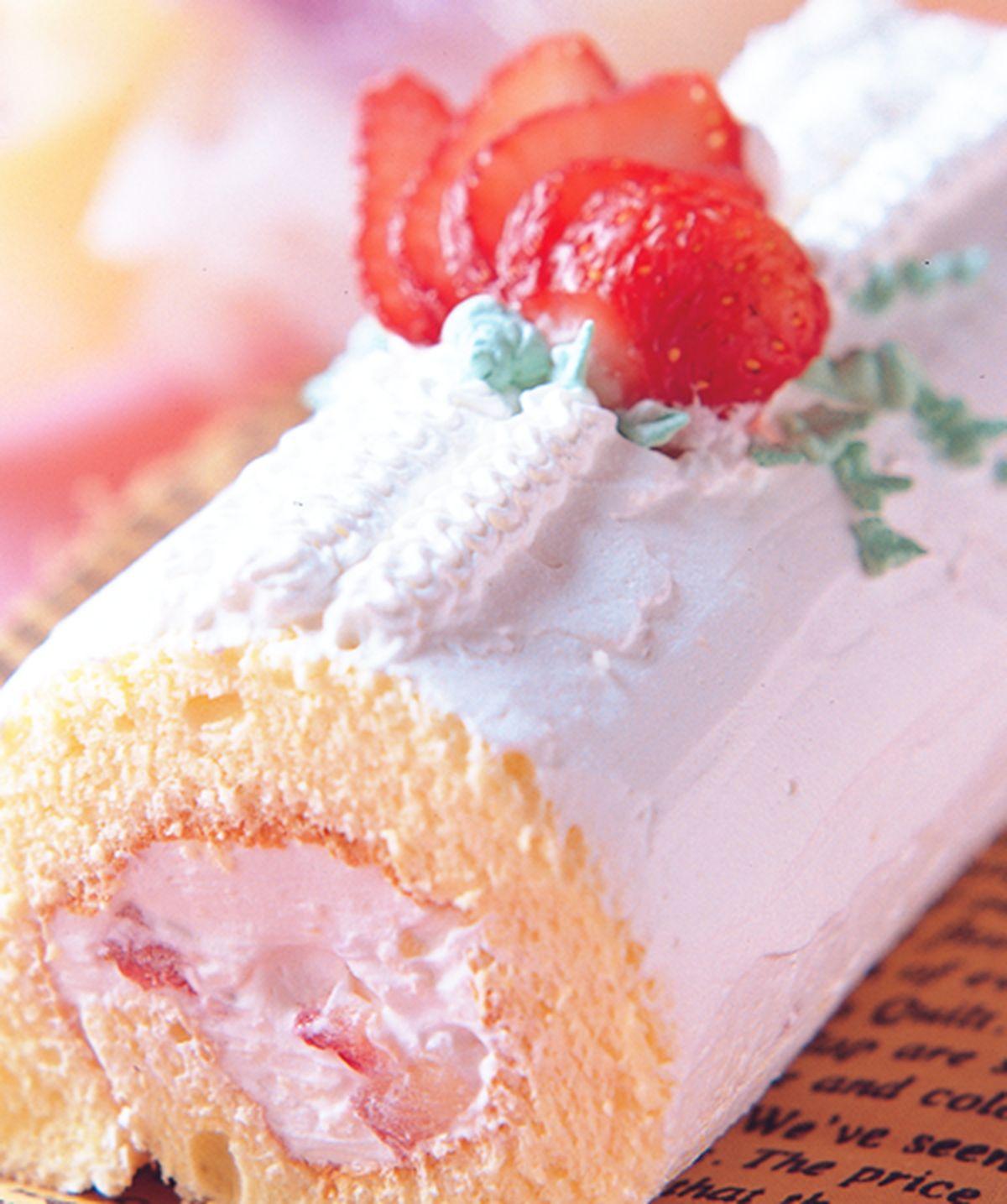 食譜:草莓瑞士捲