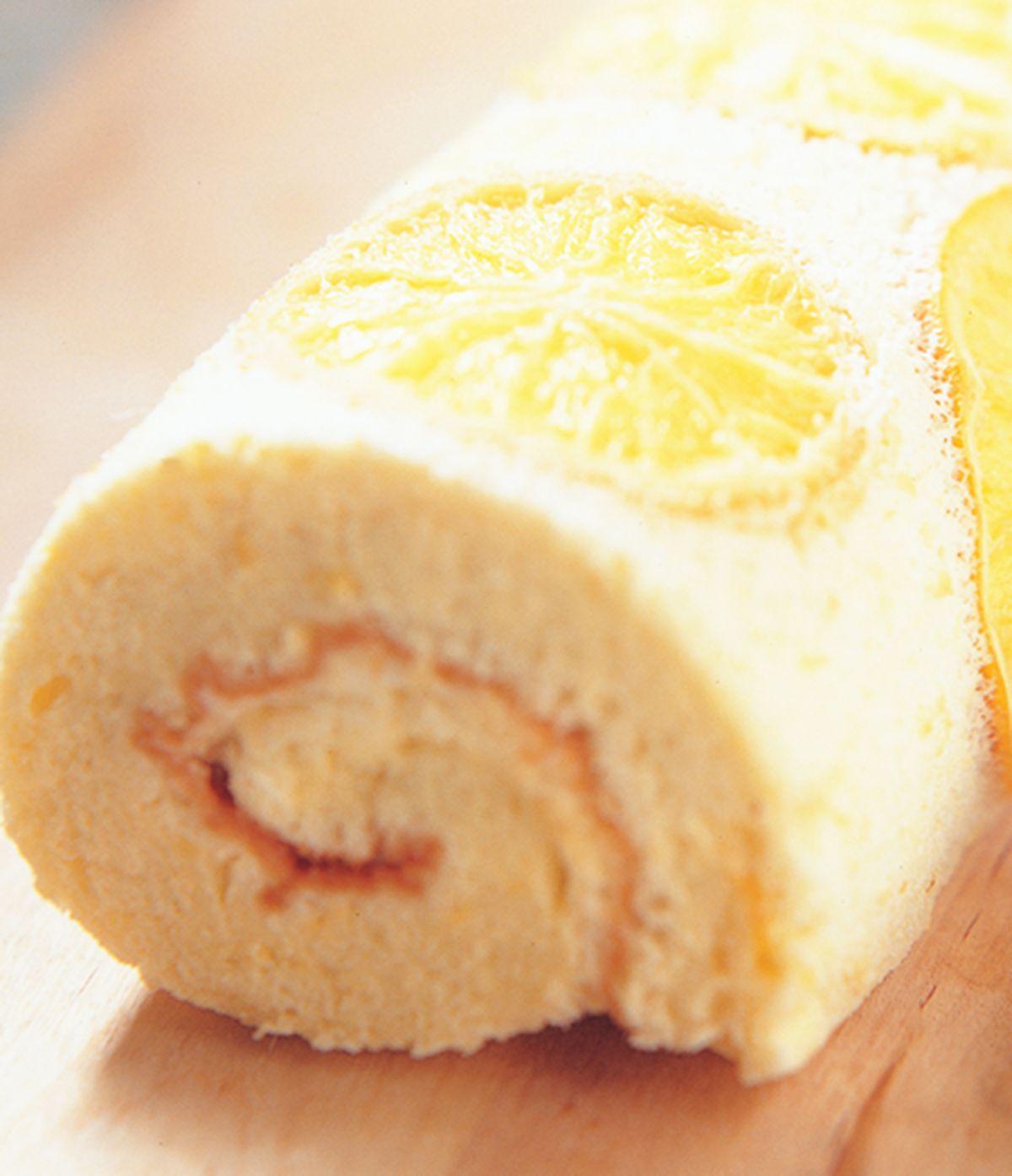 食譜:柳橙瑞士捲