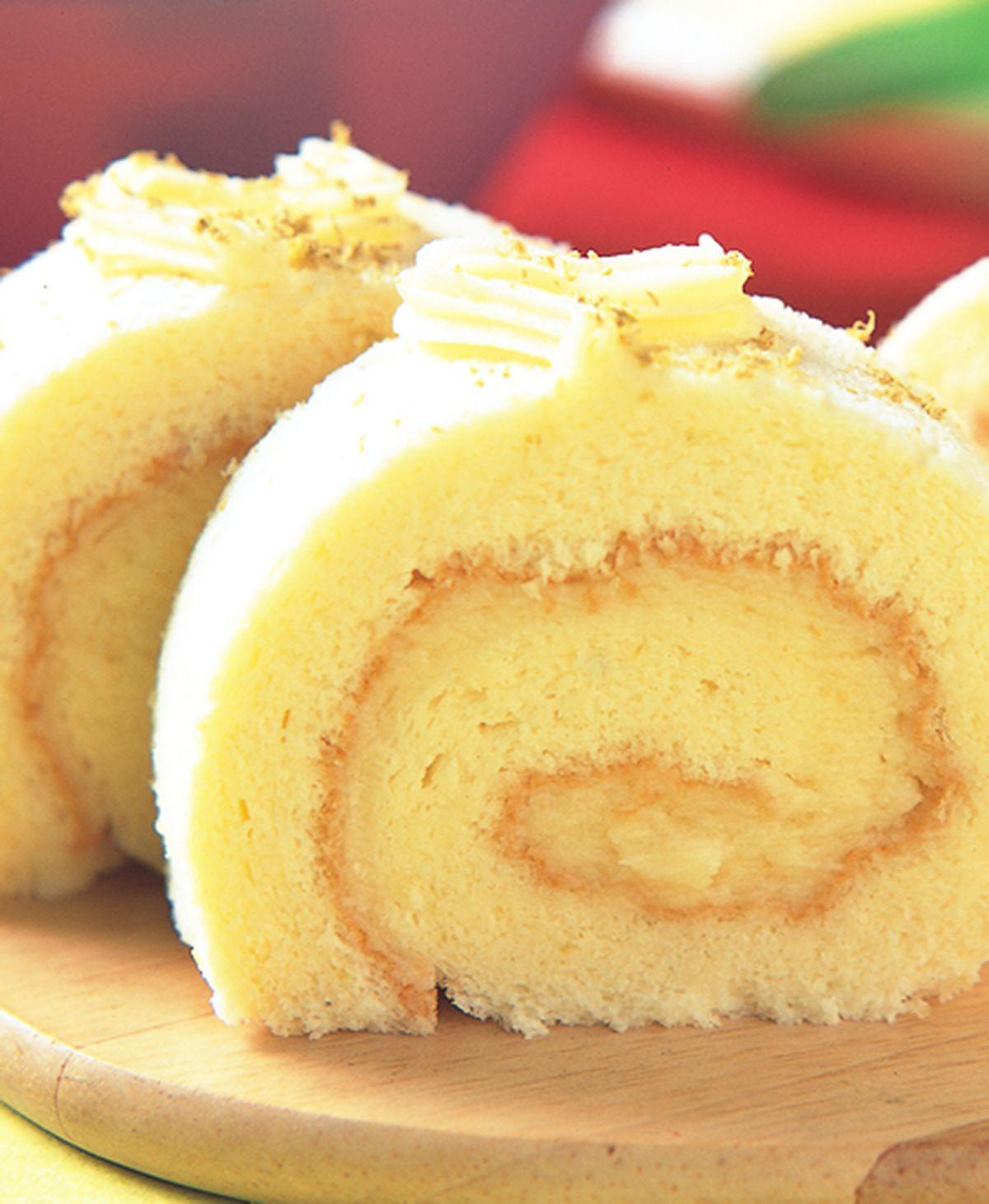 食譜:檸檬瑞士捲