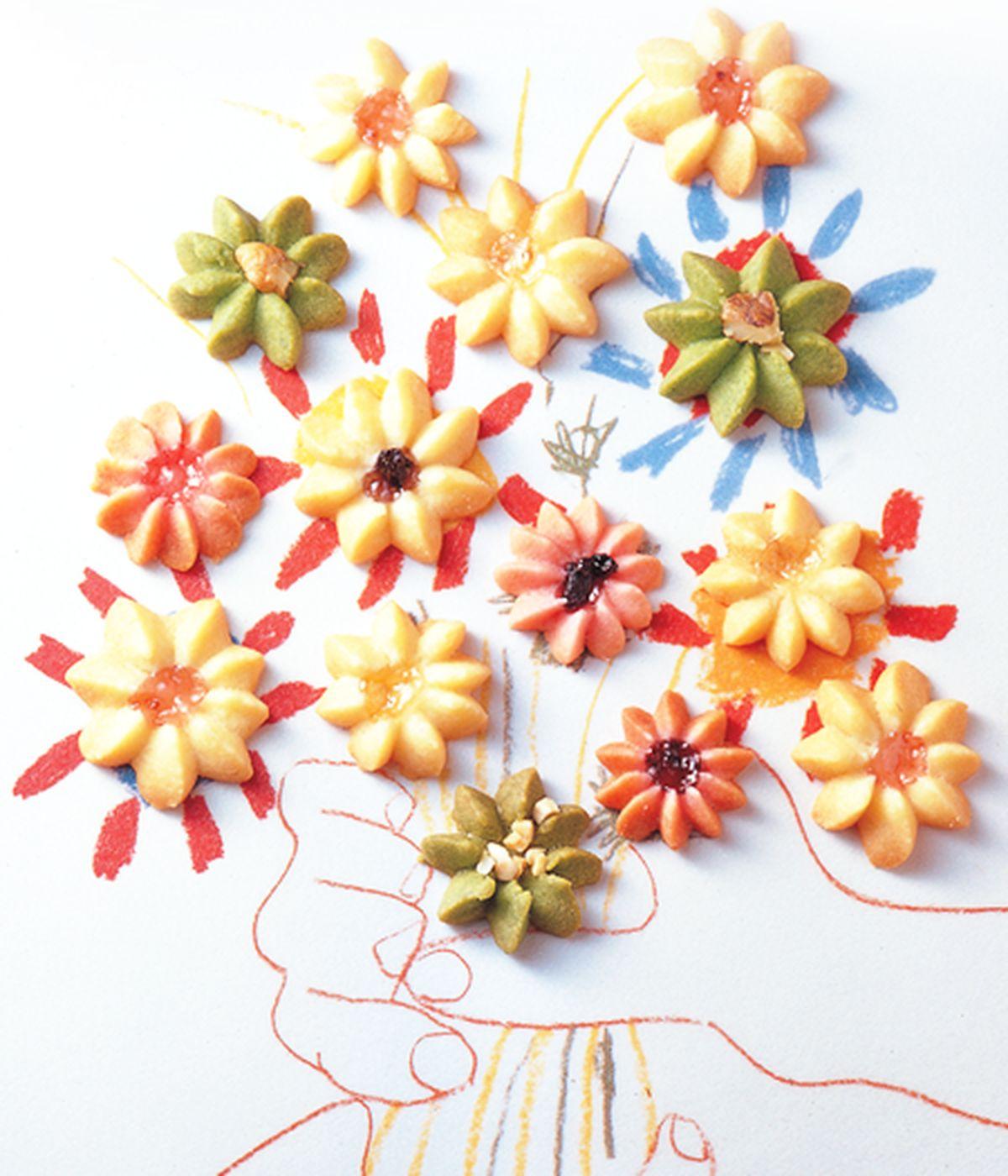 食譜:花朵奶酥