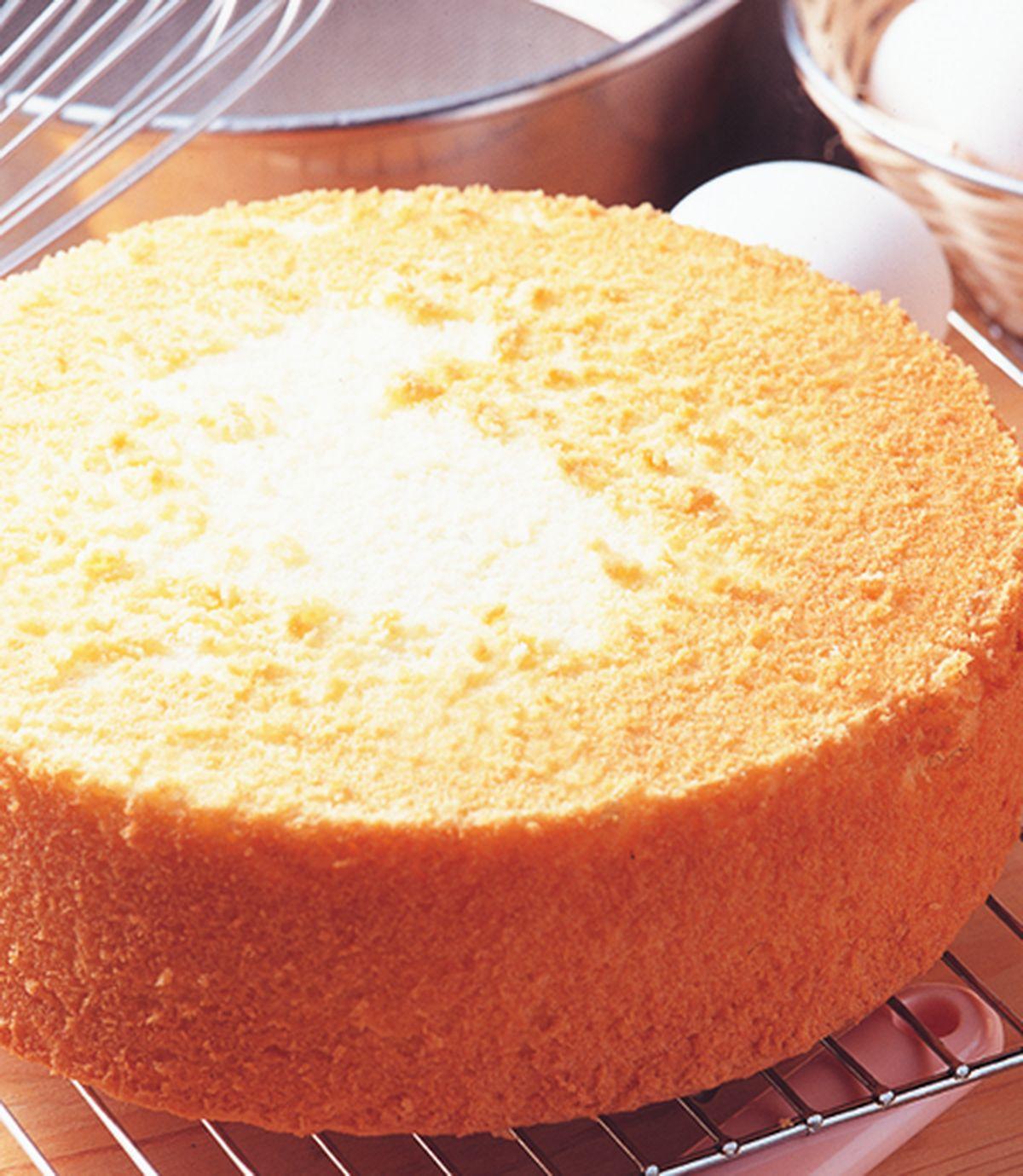 食譜:海綿蛋糕體