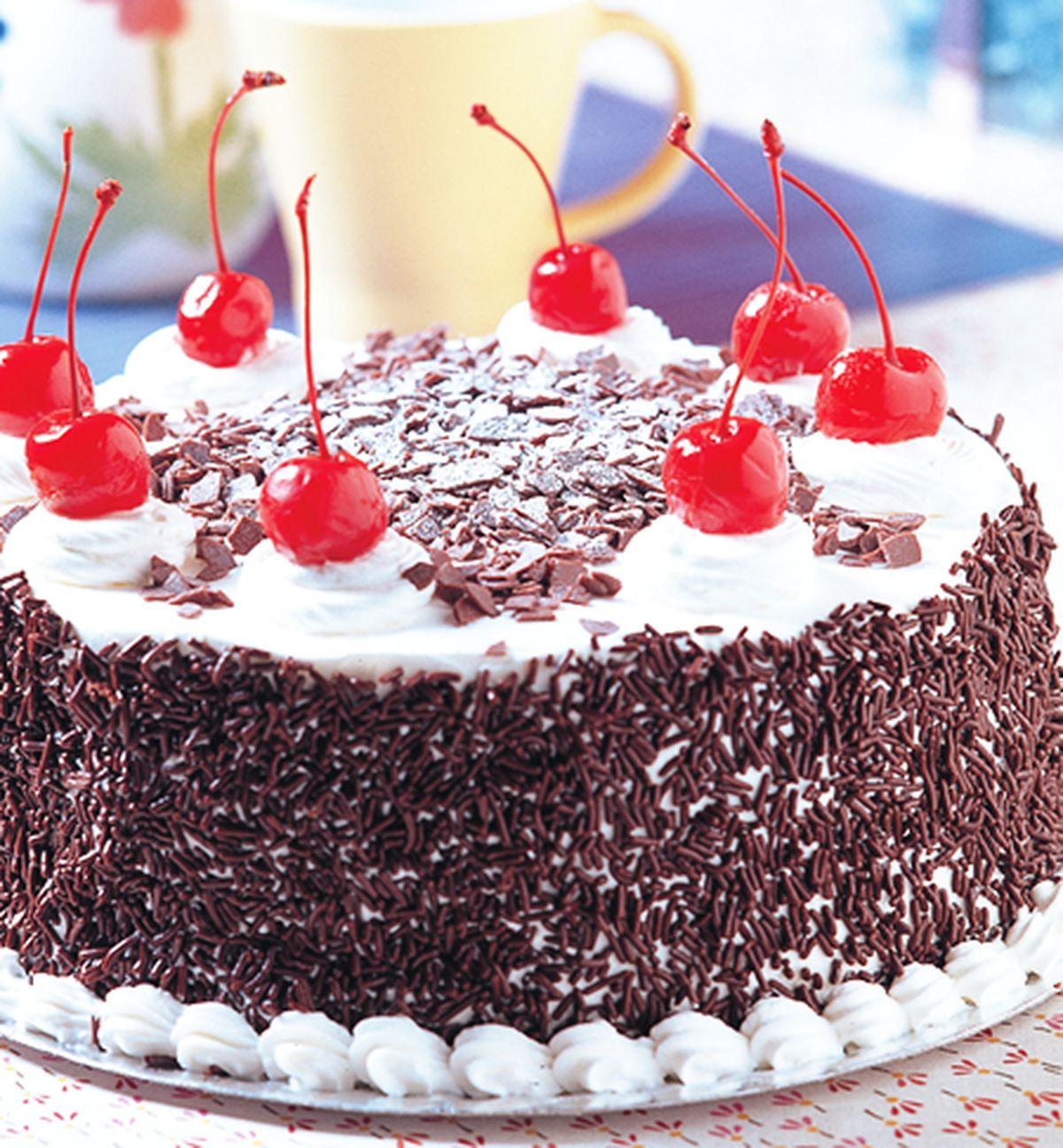 食譜:黑森林蛋糕(1)