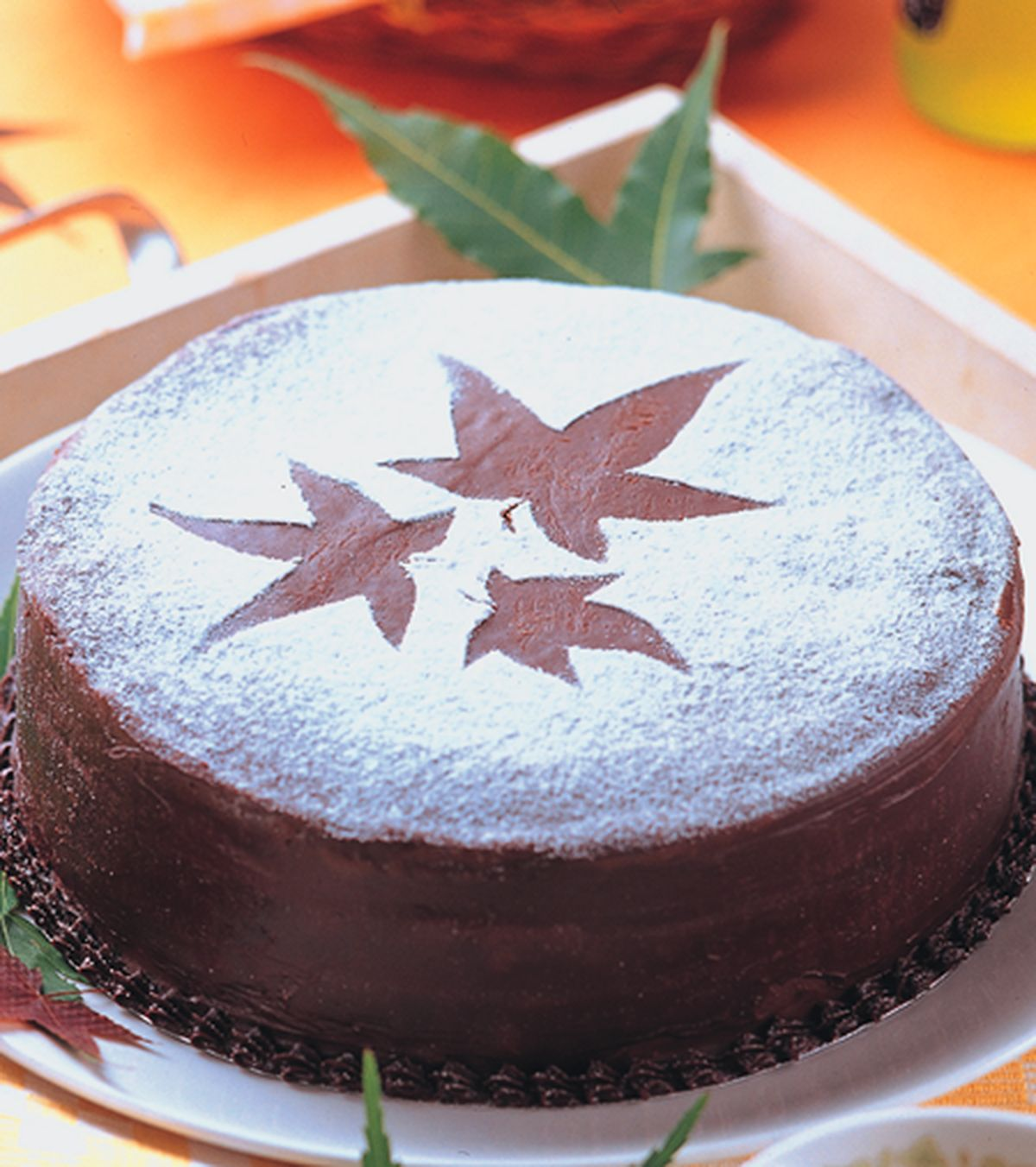 食譜:楓葉蛋糕