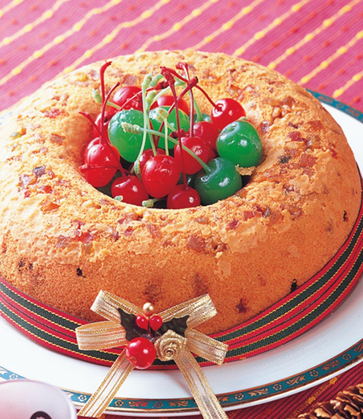 食譜:聖誕水果蛋糕