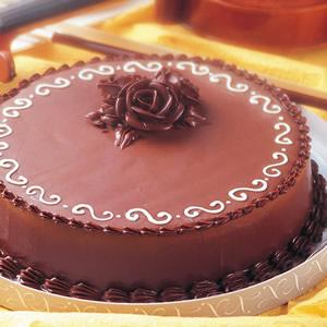 巧克力維也納蛋糕