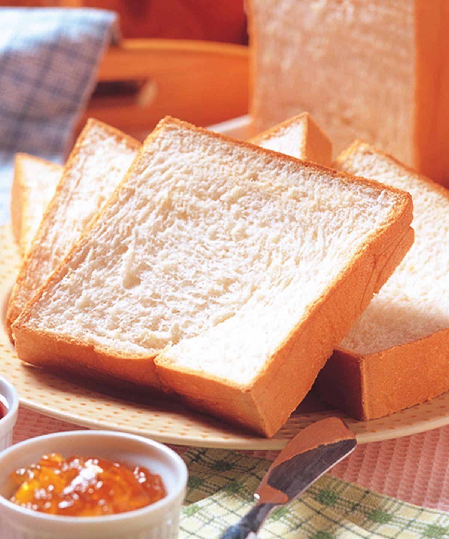 食譜:傳統白土司-直接法