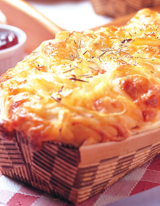 食譜:洋蔥火腿土司