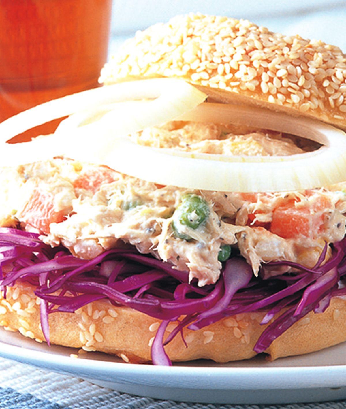 食譜:DHA鮪魚Bagel