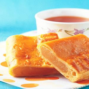 香橙水果鬆餅