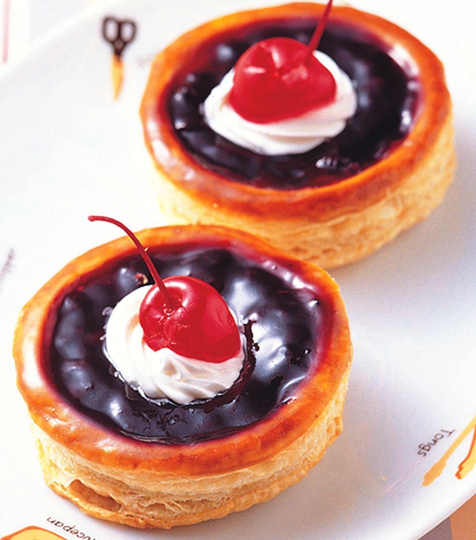 食譜:藍莓盅