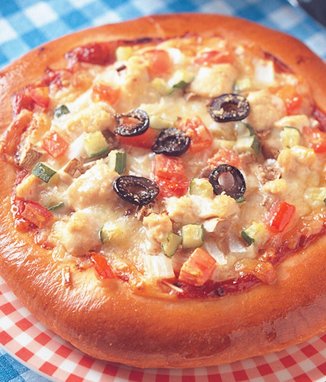食譜:地中海披薩