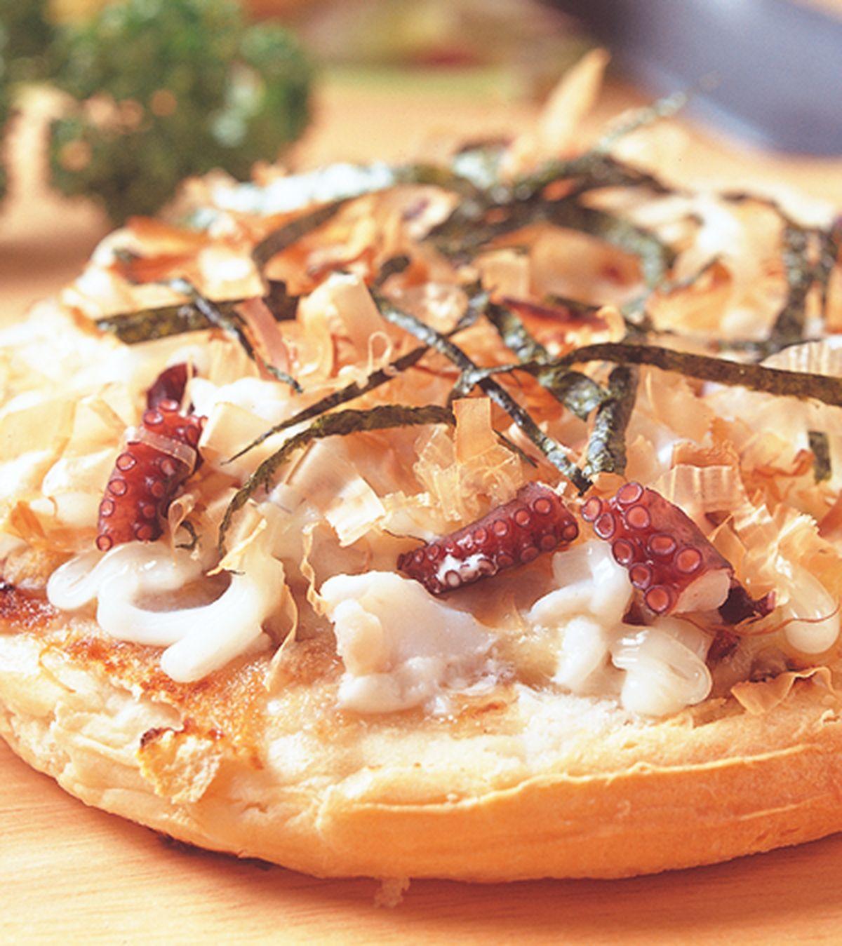 食譜:和風章魚燒披薩