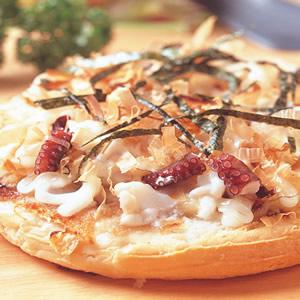 和風章魚燒披薩