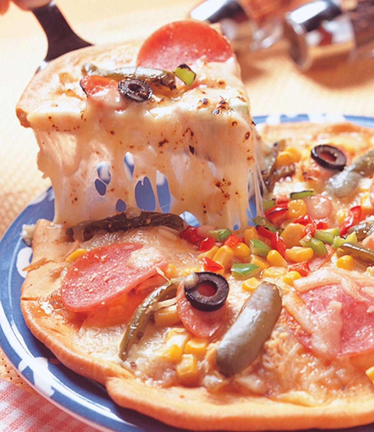 食譜:什錦哈辣披薩