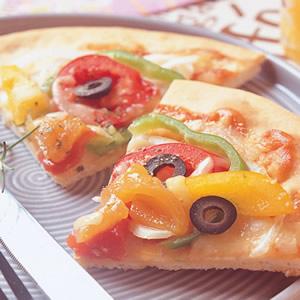 彩椒時蔬披薩