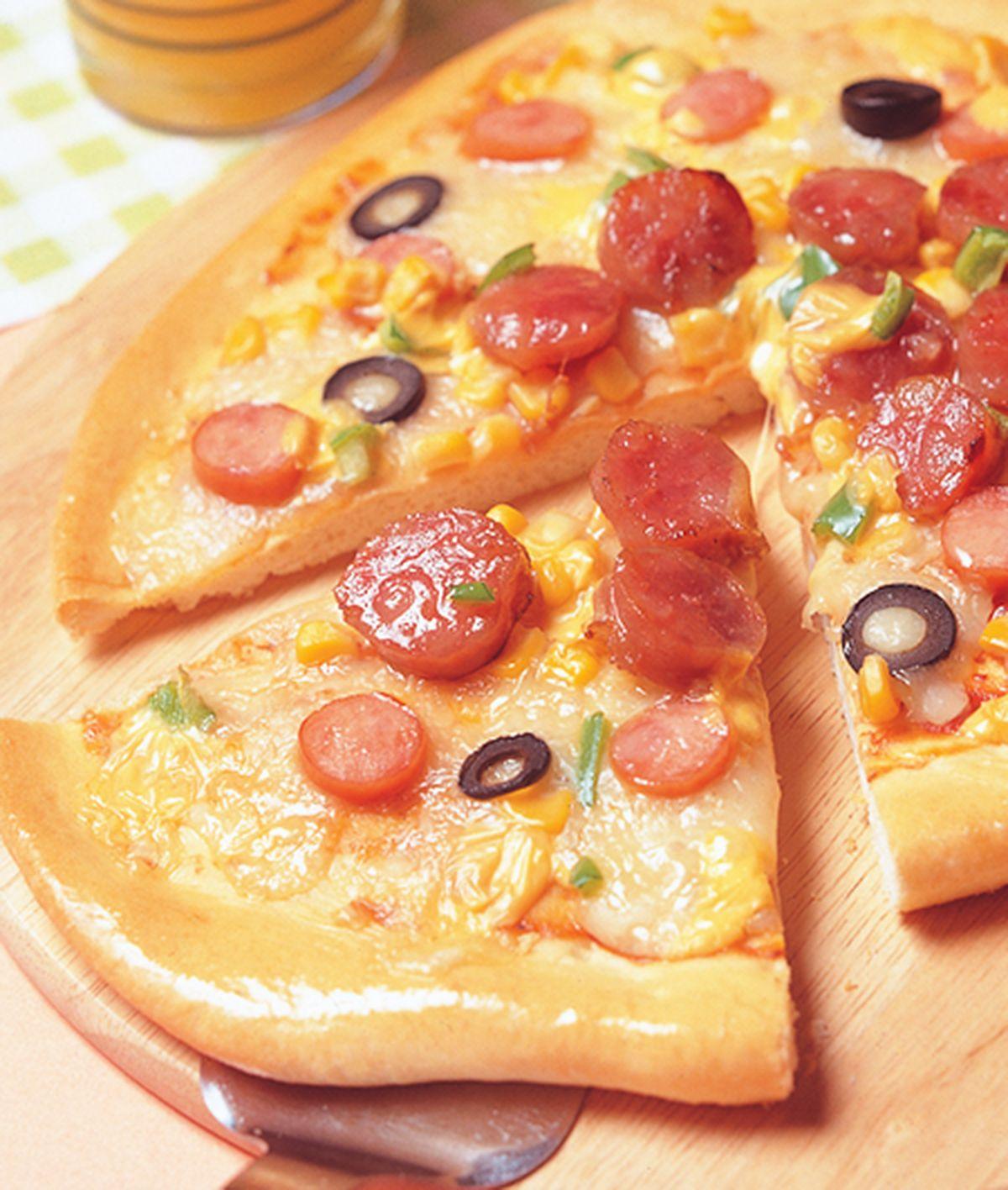 食譜:臘腸披薩