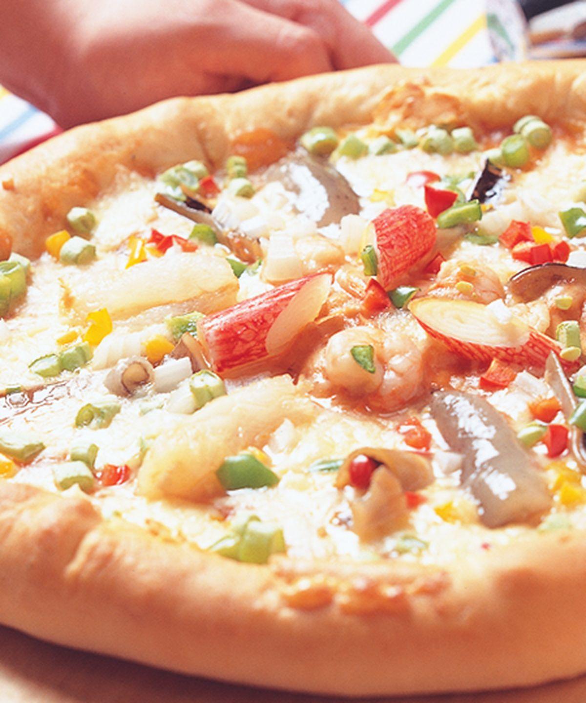 食譜:什錦海鮮披薩