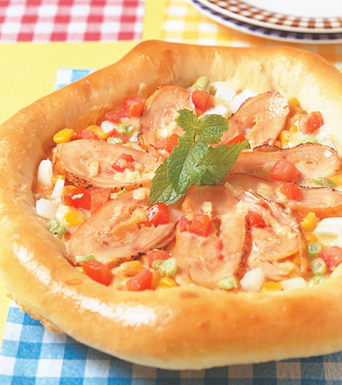 食譜:義式燻雞披薩