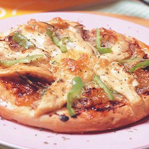 B.B.Q雞柳披薩