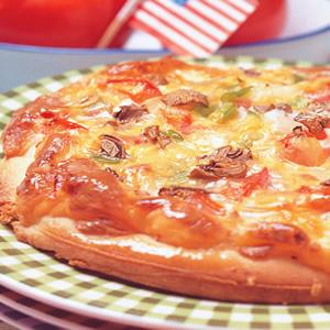 重乳酪披薩
