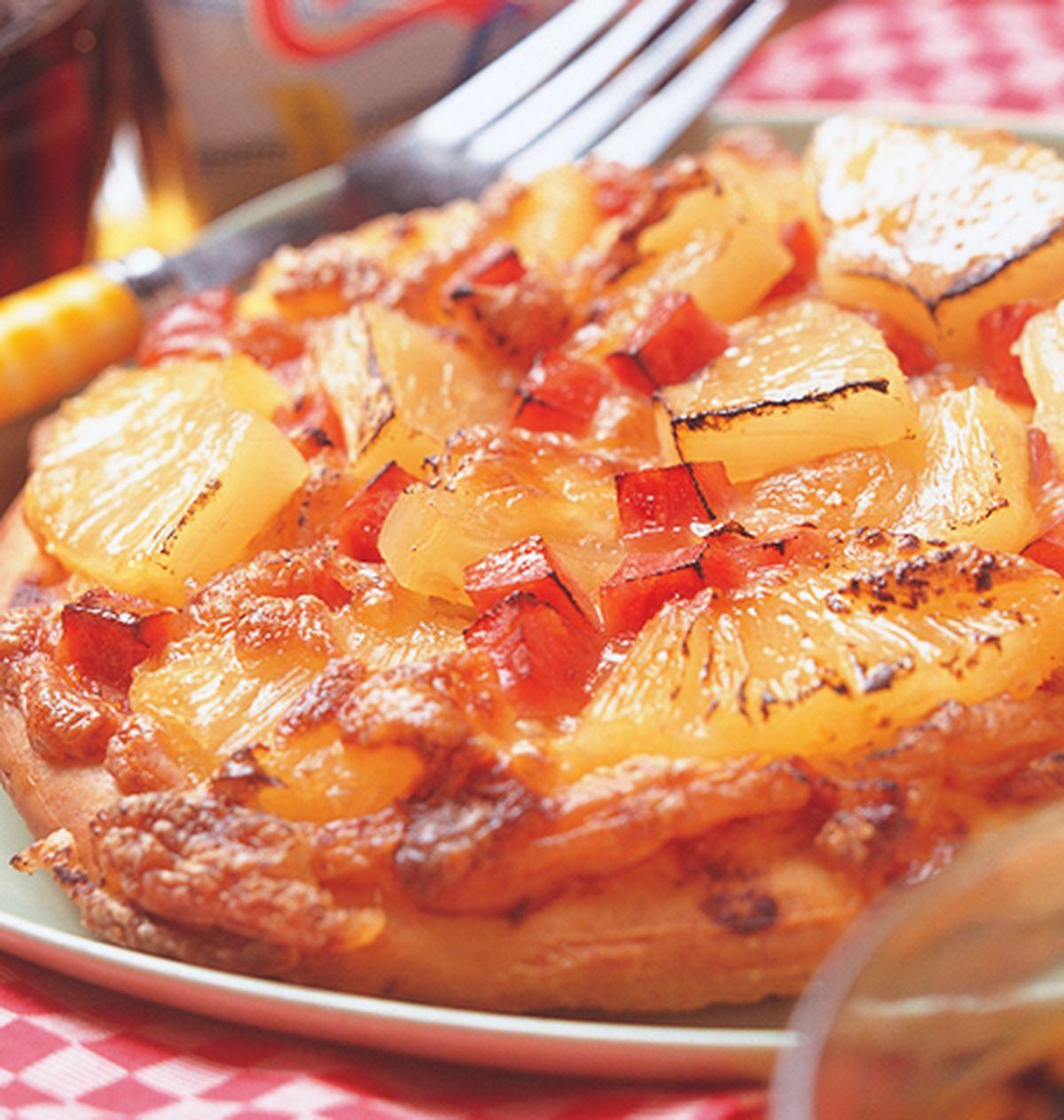 食譜:夏威夷披薩(2)