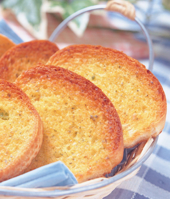 食譜:蒜香麵包