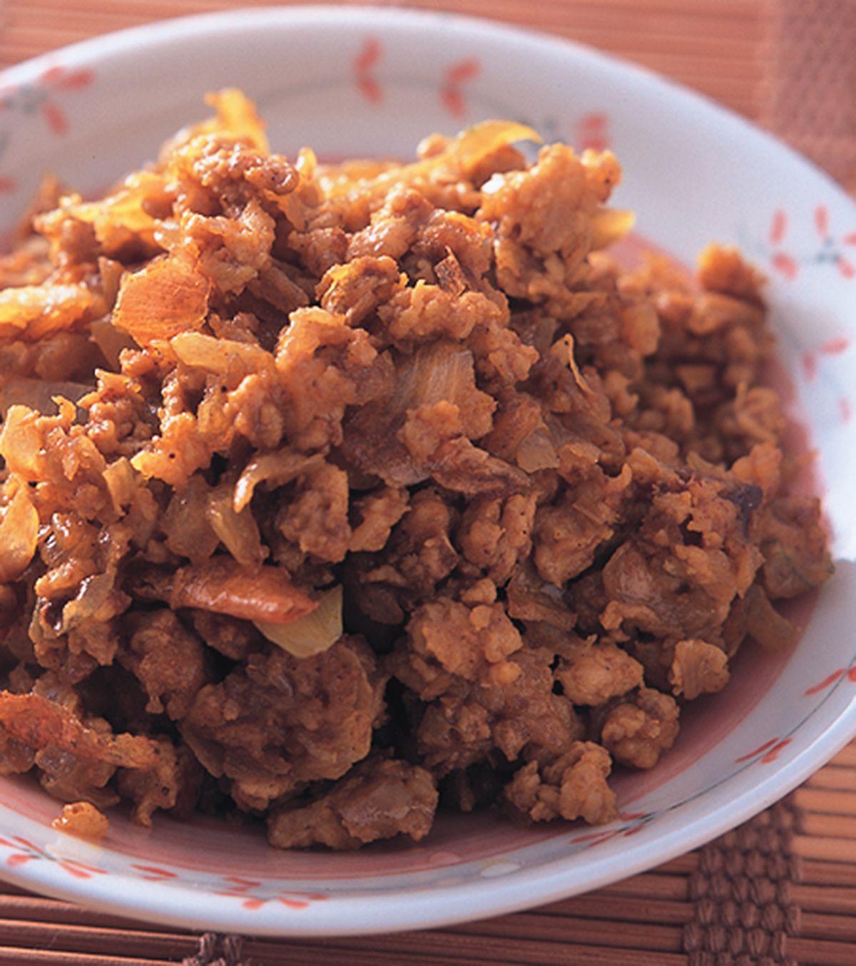 食譜:咖哩肉燥餡