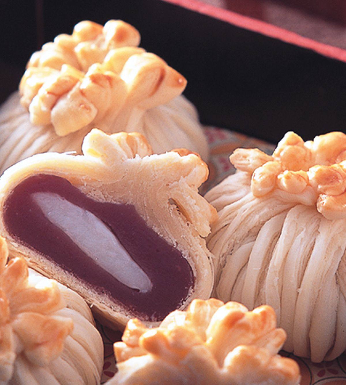 食譜:紫晶酥