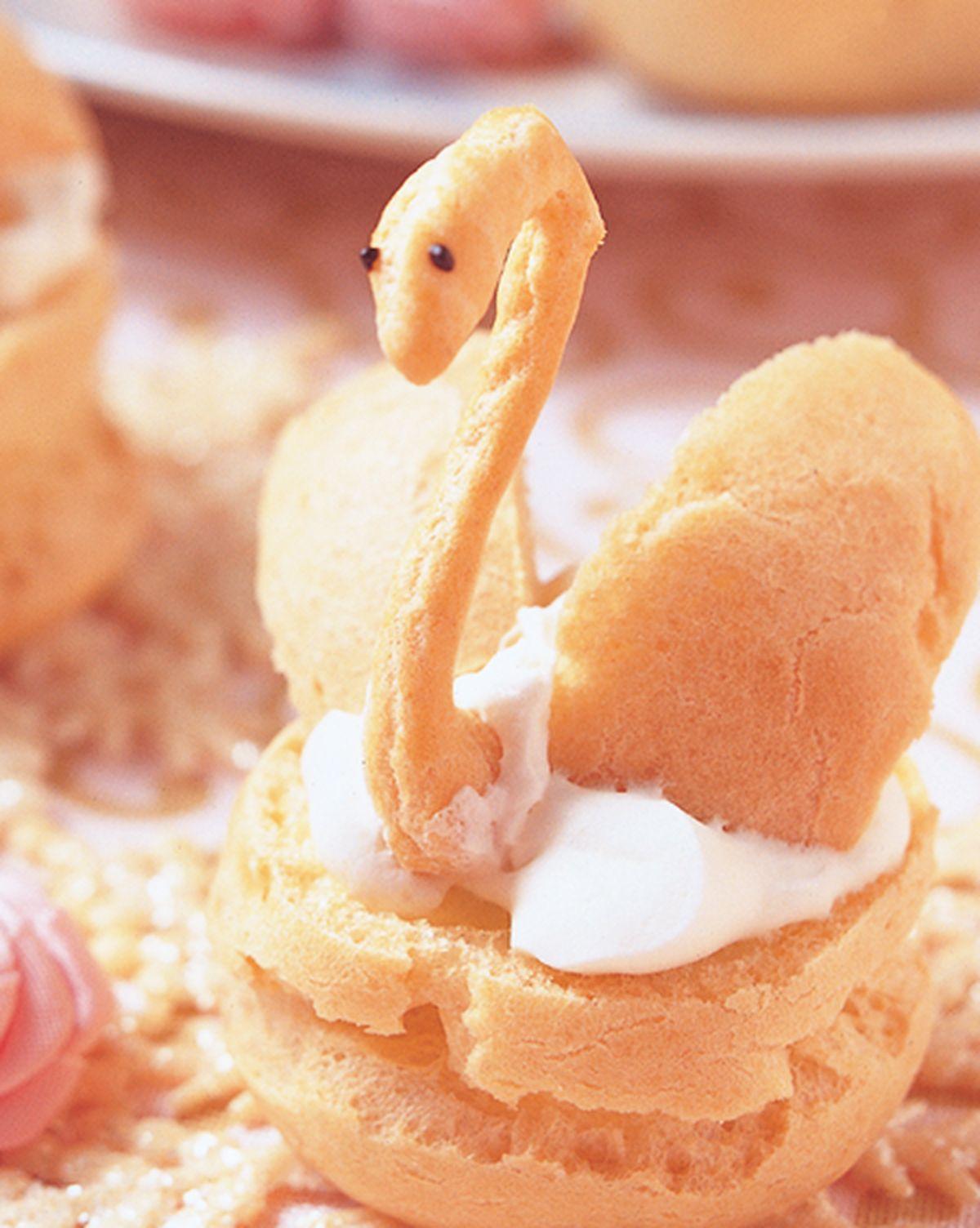食譜:天鵝泡芙(1)