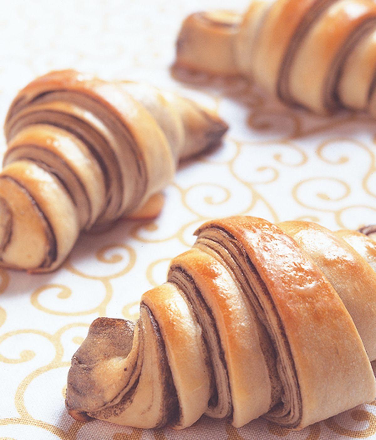食譜:大理石牛角麵包